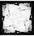 Grunge Textured Frame vector image
