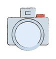 photo camera picture image icon sketch vector image vector image