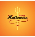 Happy Halloween1 vector image