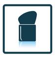 Make Up brush icon vector image