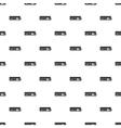 Bus pattern simple style vector image