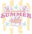 Summer beach party vector image