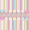 seamless pastel abstract pattern vector image