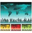 world map illustration vector image