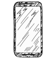 phone vector image vector image