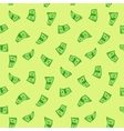Dollars seamless vector image vector image