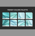 Glass facet gradient template icon vector image