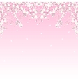 tree branches border vector image vector image