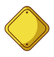 traffic signal isolated icon vector image