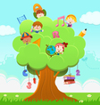 Learning Tree vector image