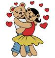 love bears vector image