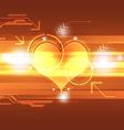 cardiograph technology concept vector image