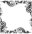 Decorative frame border vector image