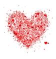 Valentine heart shape for your design vector image