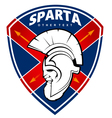 sparta logo vector image