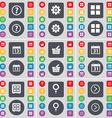 Question mark Gear Apps Calendar Basket Calendar vector image