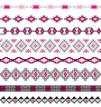 Seamless pattern tribal design Ethnic vector image
