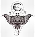 Ornate Stingray Fish vector image