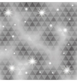 triangle pattern background image vector image