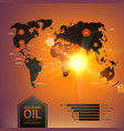 Oil industry vector image