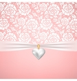 wedding or StValentines day vector image vector image