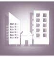 building icon 10 EPS vector image