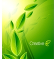 nature creative background vector image vector image