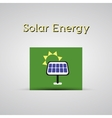 Green ecology energy planet concept with vector image
