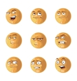 funny emotions pack vector image