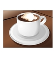 coffee sign design vector image