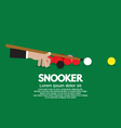 Snooker Competition vector image