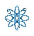 atom science element vector image