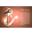 graphics image microphone vector image