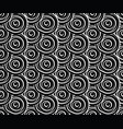 hand drawn seamless pattern with circles in vector image