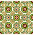 Seamless pattern with Mandalas vector image