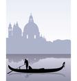 venetian gondola vector image