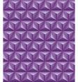 Tripartite pyramid lilac seamless texture vector image
