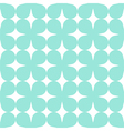 Green seamless simple clover pattern vector image