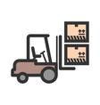 Lift Box vector image