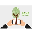 green technology vector image