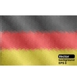 German flag of geometric shapes vector image
