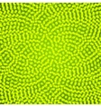 Green spiral dots background vector image