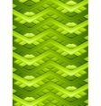 Bright green smooth stripes background vector image vector image
