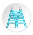 Ladder icon cartoon style vector image