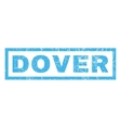 Dover Rubber Stamp vector image