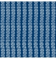 seamless blue ethnic pattern vector image