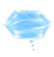 bubble speech background vector image