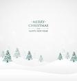 merry christmas greeting design vector image