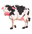 Standing cow vector image