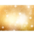 Christmas and New Year feast bokeh EPS 10 vector image vector image
